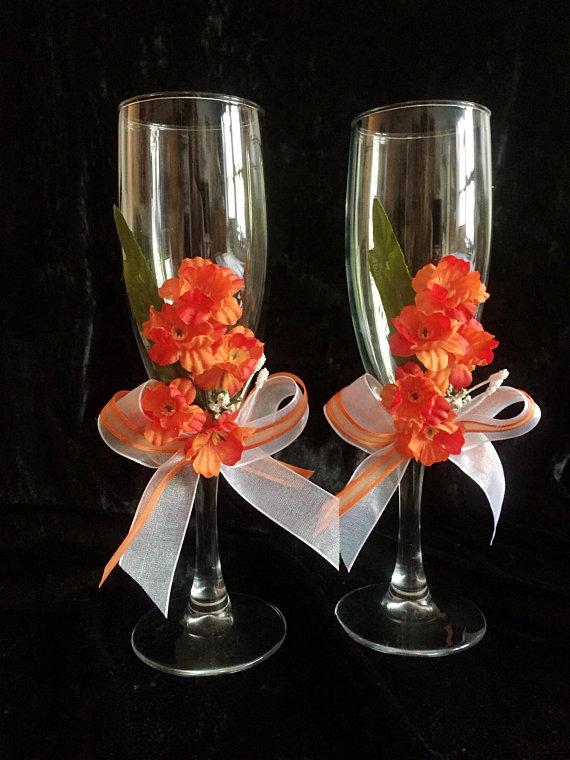 Wedding Toasting Flutes Wedding Gift Champagne Glasses Bridal