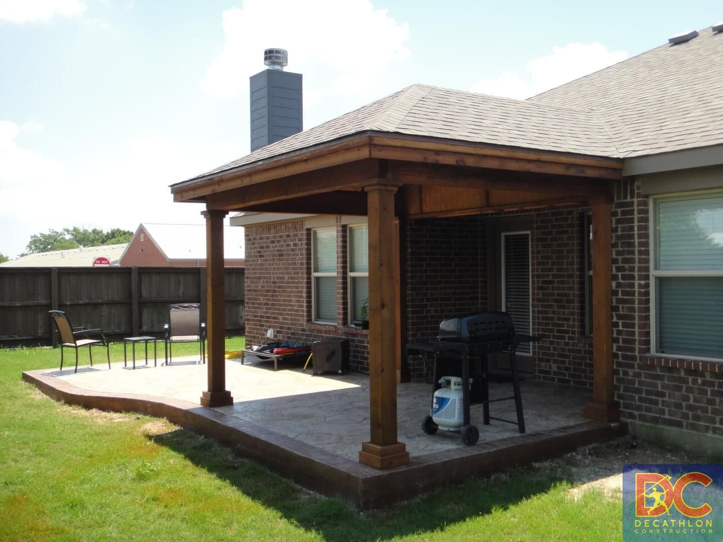 Hip And Ridge Patio Covers Gallery Highest Quality Waterproof Patio Covers In Da Covered Patio Design Patio Covered Patio