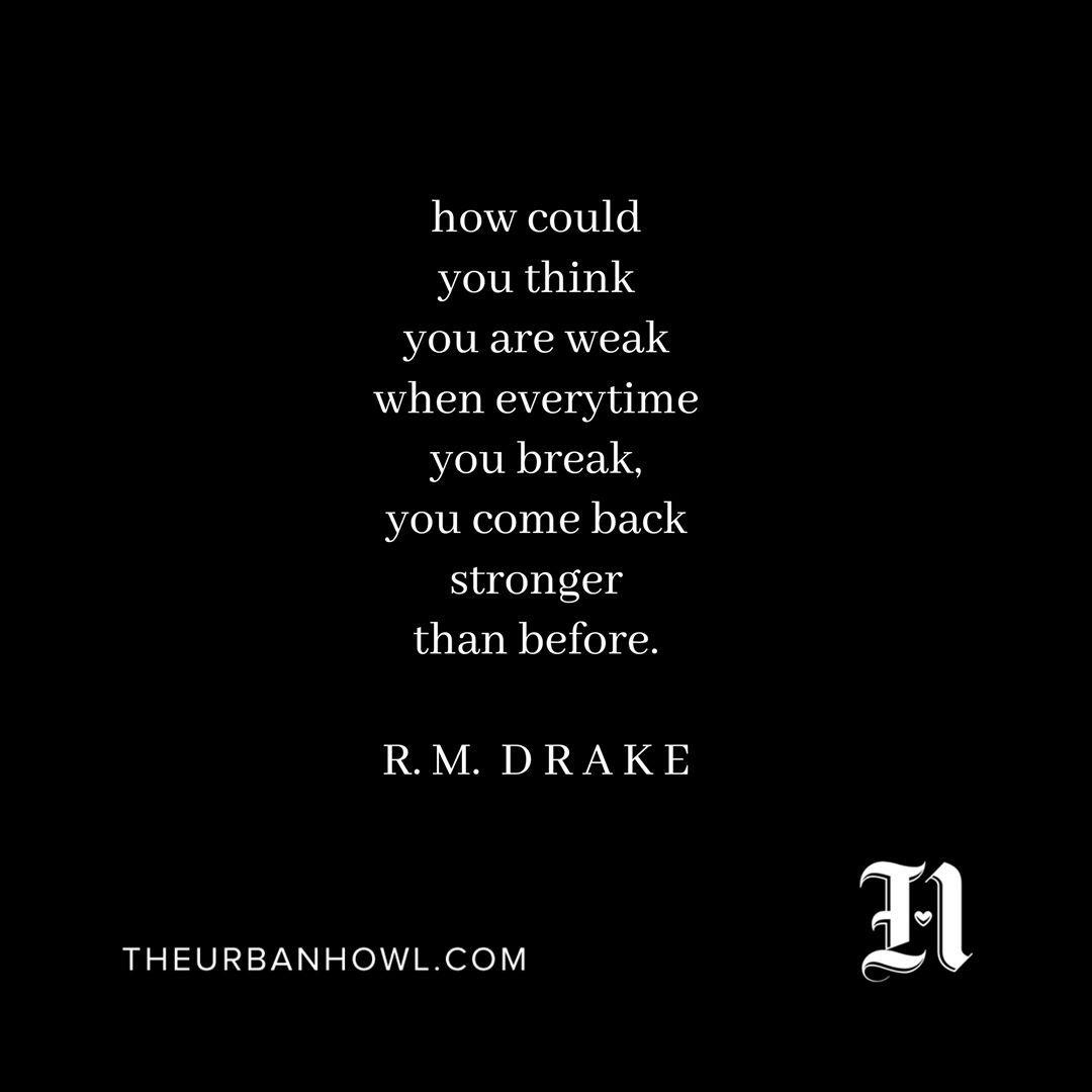 We he{art} R.M. Drake @rmdrk . . . #wakeupanddream #theurbanhowl #youarethemagic