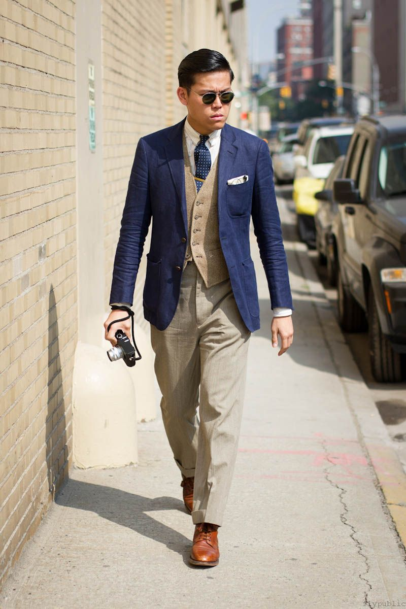 Blue Jacket Style - JacketIn