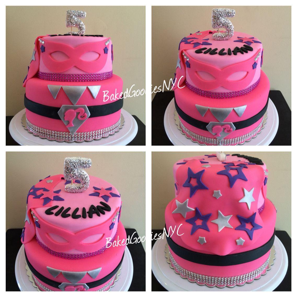 Barbie Superhero Princess Cake