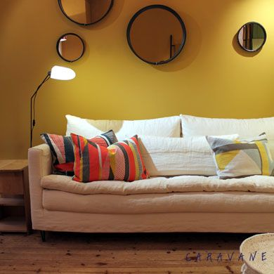 home salon bedroom colors yellow couch home comforts bohemian house home - Caravane Canape
