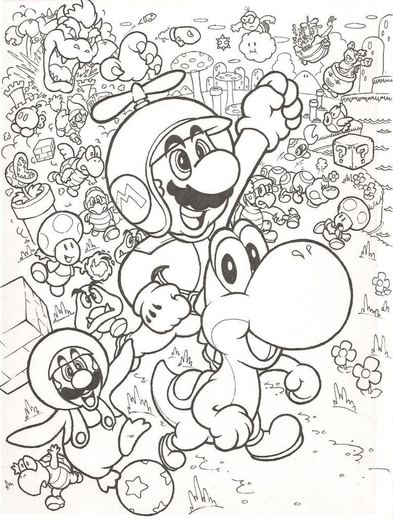 Super Mario Bros Kleurplaat1 Jpg 777 1029 Pokemon Coloring Pages Mario Coloring Pages Abstract Coloring Pages