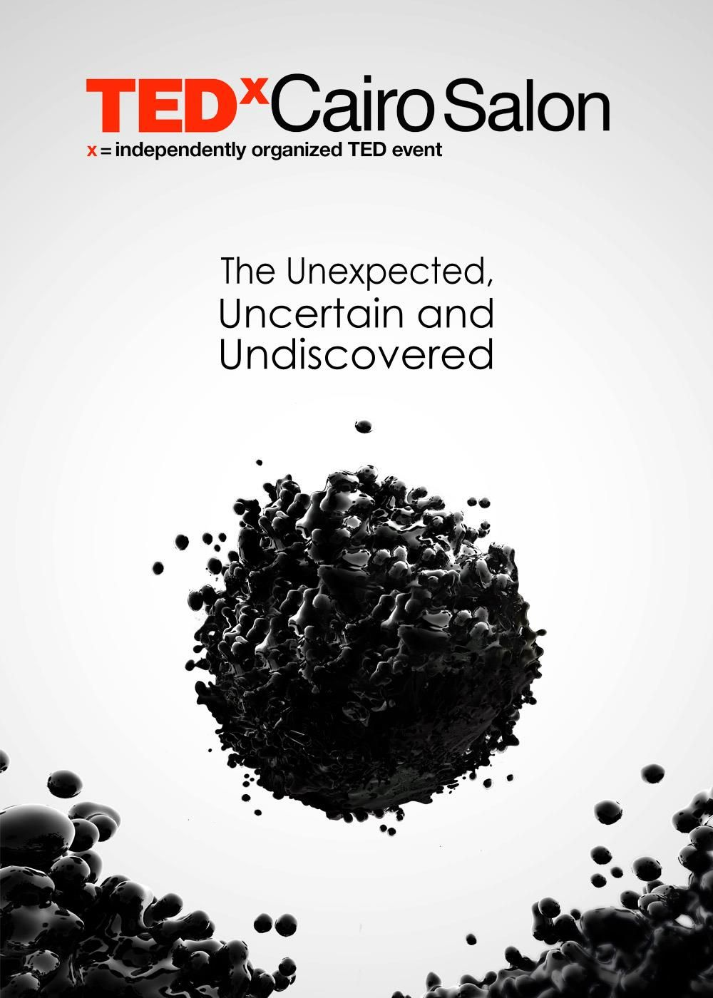TEDxCairoSalon - The Unexpected, Uncertain and Undiscovered. May 2012.