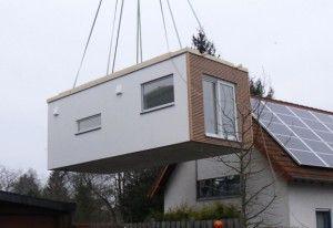 flyingspaces als anbau schwoererblog garage und neubau pinterest anbau hausanbau und. Black Bedroom Furniture Sets. Home Design Ideas