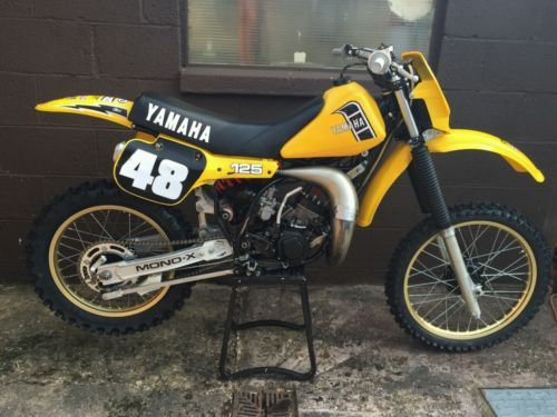 Yamaha Yz 125 Evo Motocross Vintage Dg Yamaha Yz 125 Yamaha Motocross Bikes