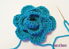 Crochet Rochelle: Triple Crochet Flower