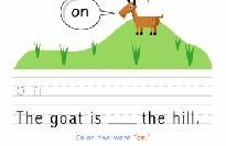 Write and Draw Sight Words