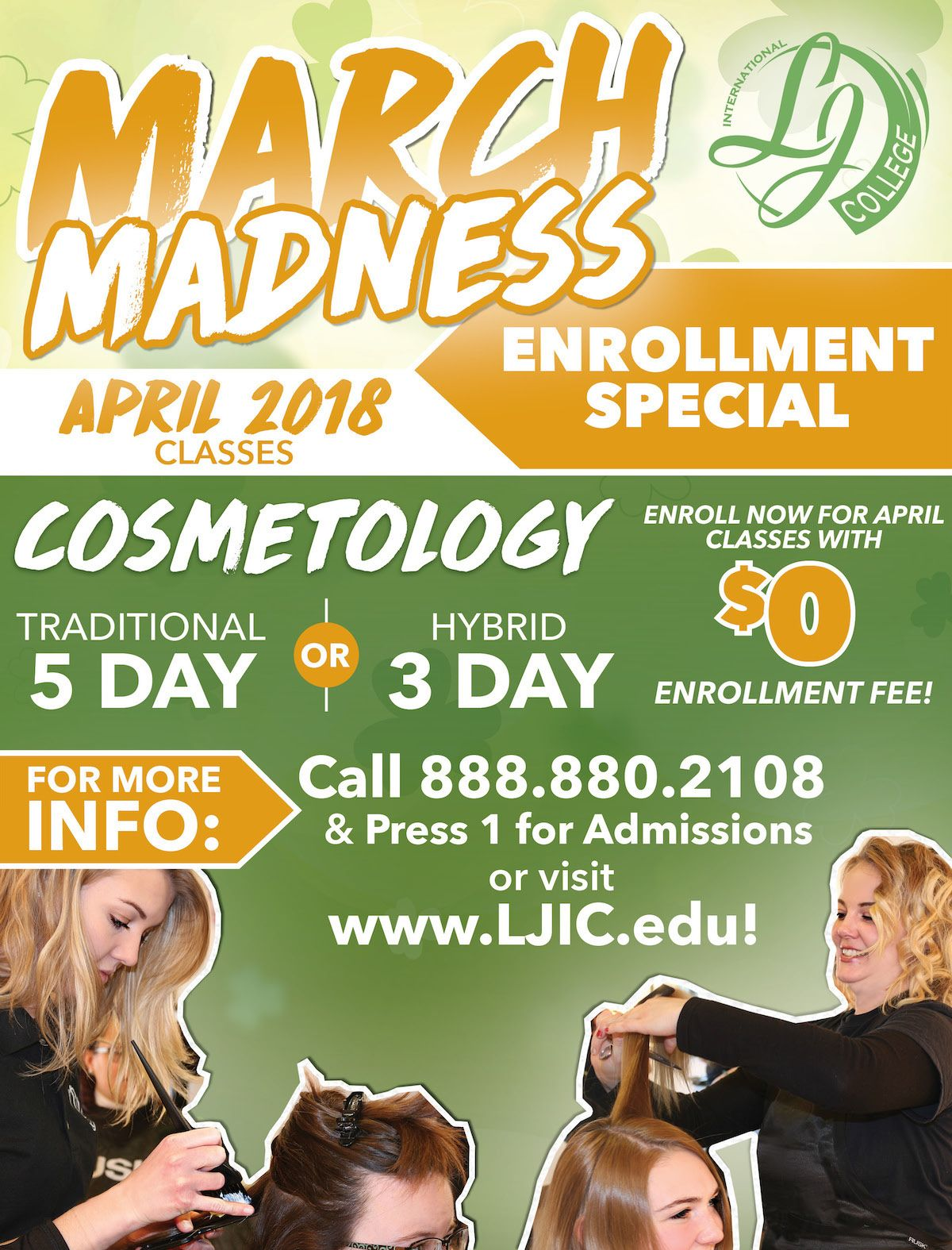 What's happening in March at LJIC you ask?... March