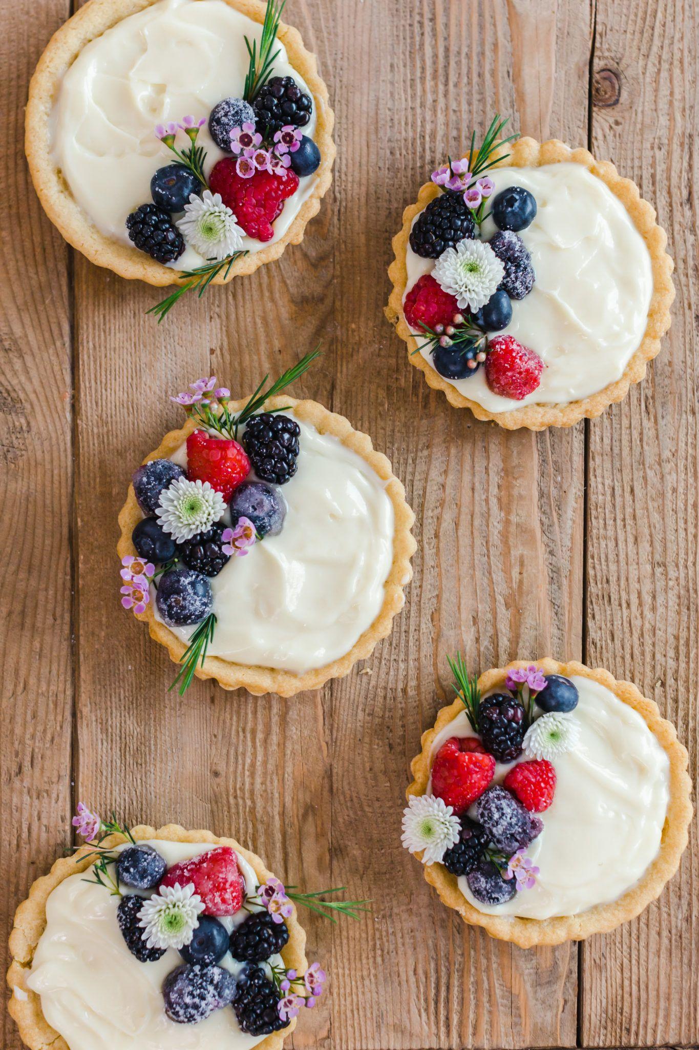 Easy Sugar Cookie Fruit Tarts