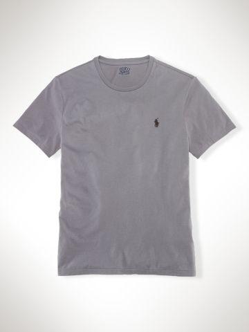 Custom-Fit T-Shirt - Polo Ralph Lauren Tees - RalphLauren.com. Polo Ralph  LaurenCamisas PóloCamisas SociaisHomem ... a90e14ec621
