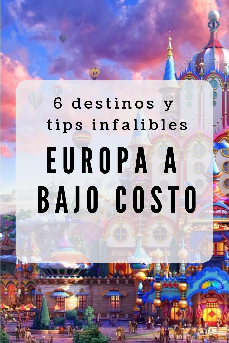 Las Mas Baratas Ciudades De Europa Para Visitar O De Plano Vivir En Ellas Aquarelis Com Travel Trip Europe