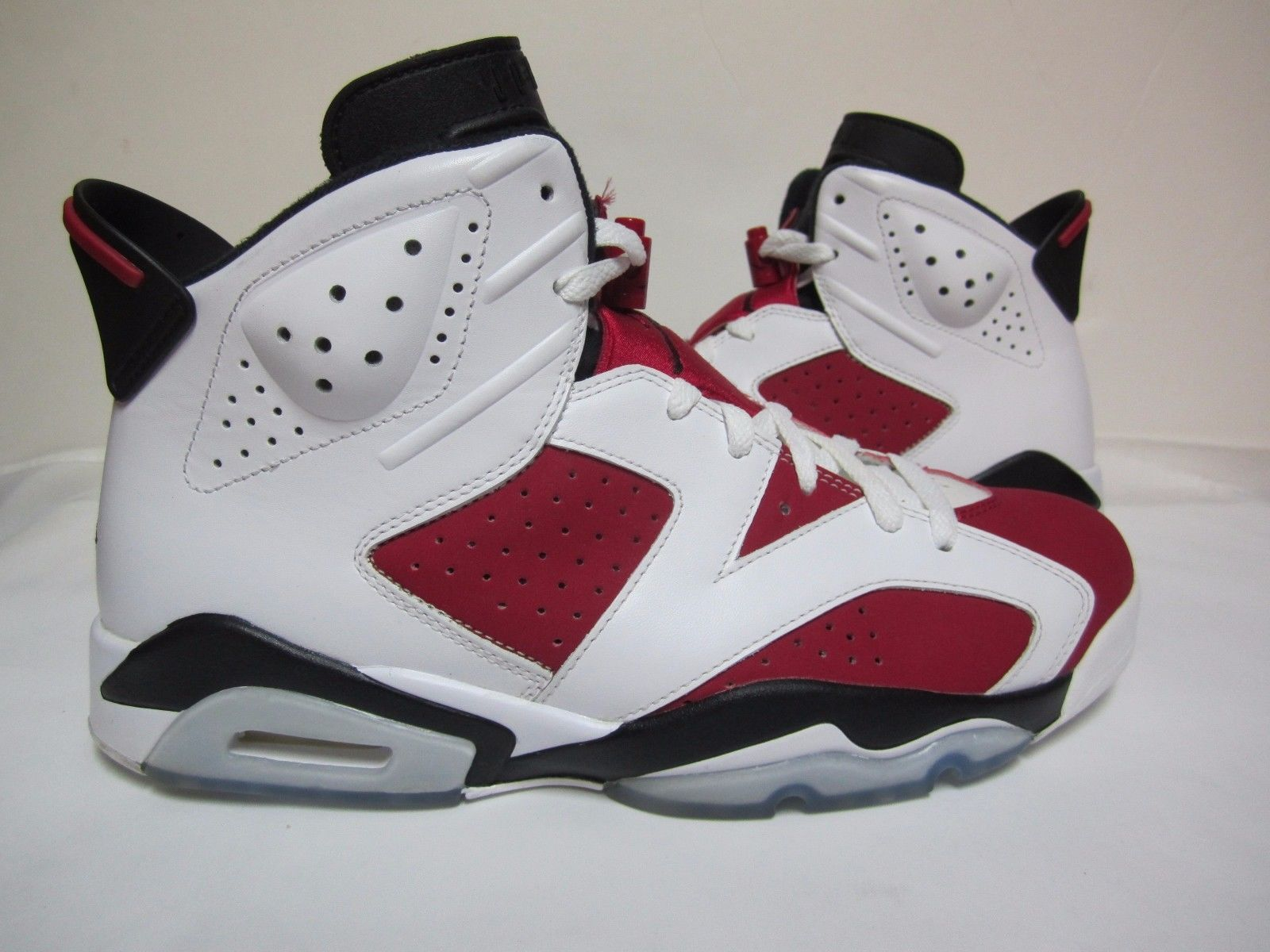 f34e004321e18 Air Jordan 6 Retro Carmine style code  384664-160 colorway  white red black  Brand new size 11.5 BUY IT NOW Brand New size 13 BUY IT NOW We have  partnered ...