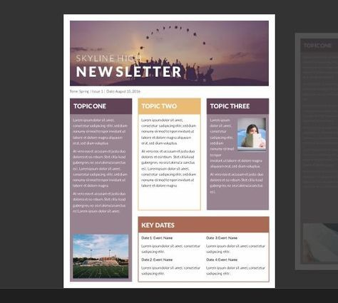 15 Free Microsoft Word Newsletter Templates For Teachers School Xdesign Newsletter Template Free School Newsletter Template Free School Newsletter Template