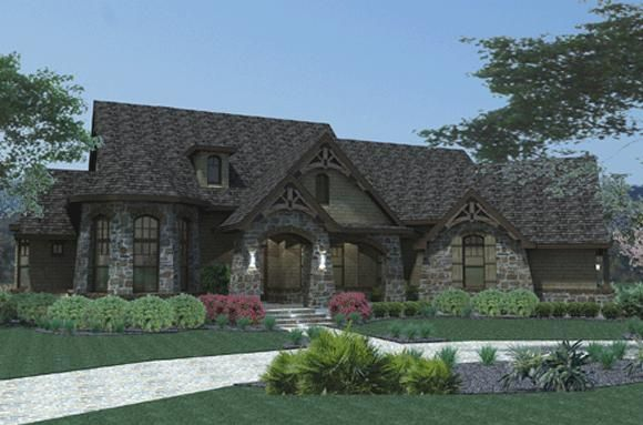 House Plan 9401-00015 - Ranch Plan 2,595 Square Feet, 3 Bedrooms