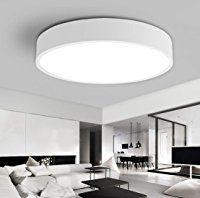 Led deckenlampen für badezimmer  Wohnzimmerlampe Decke Lampe Wohnzimmer Weiß Deckenlampe ...
