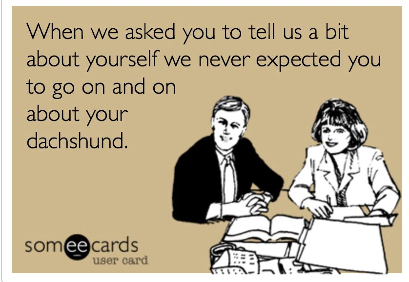 Dachshund owners know. :)
