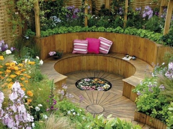 garden corner seating ideas - Google Search | Garden | Pinterest ...