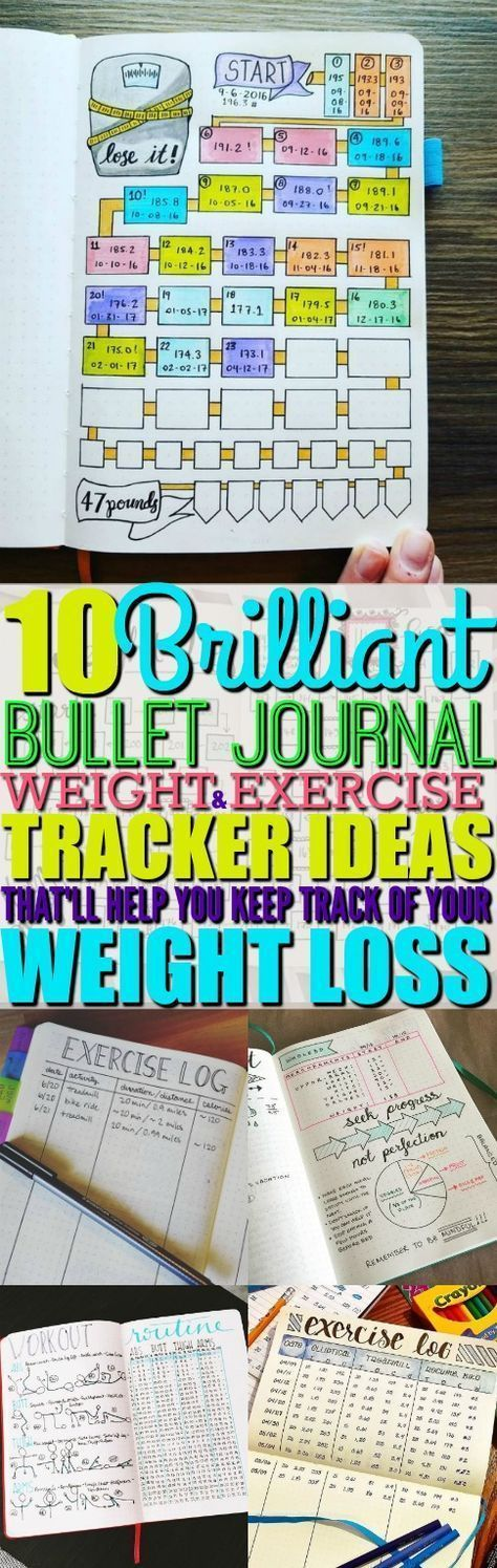 I can't believe that I've found the perfect list of bullet journal ideas that'll help me keep track of my weight, diet, and exercise. I absolutely love these bullet journal ideas! #bulletjournal #bulletjournalideas