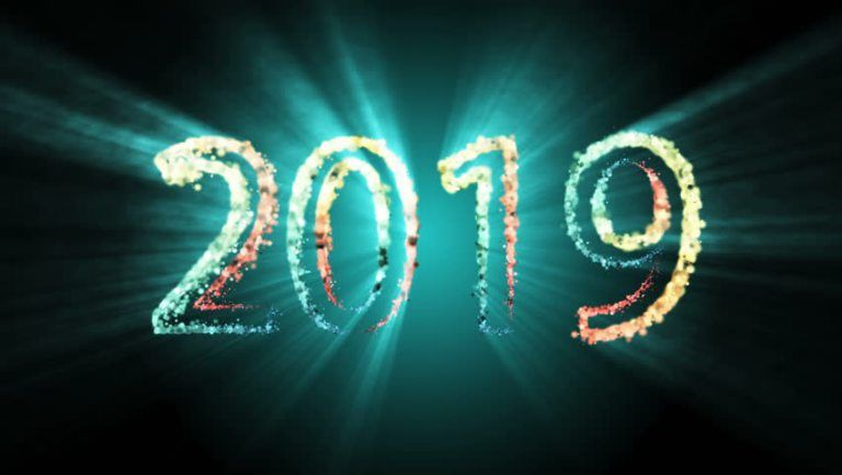 Happy new year 2020 full hd desktop wallpaper 1080p