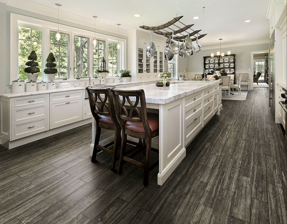 15 Different Types Of Kitchen Floor Tiles Extensive Buying Guide Home Stratosphere Elegant Kitchen Design Kitchen Floor Tile Types Of Kitchen Flooring