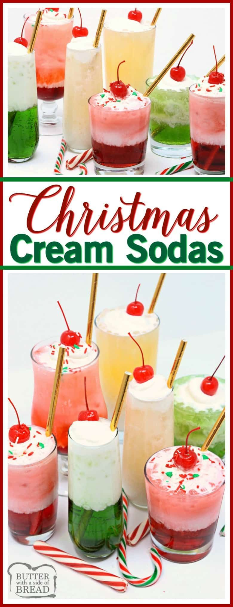 Christmas cream sodas made with sweet syrups cream club soda are christmas cream sodas made with sweet syrups cream club soda are a delicious forumfinder Image collections