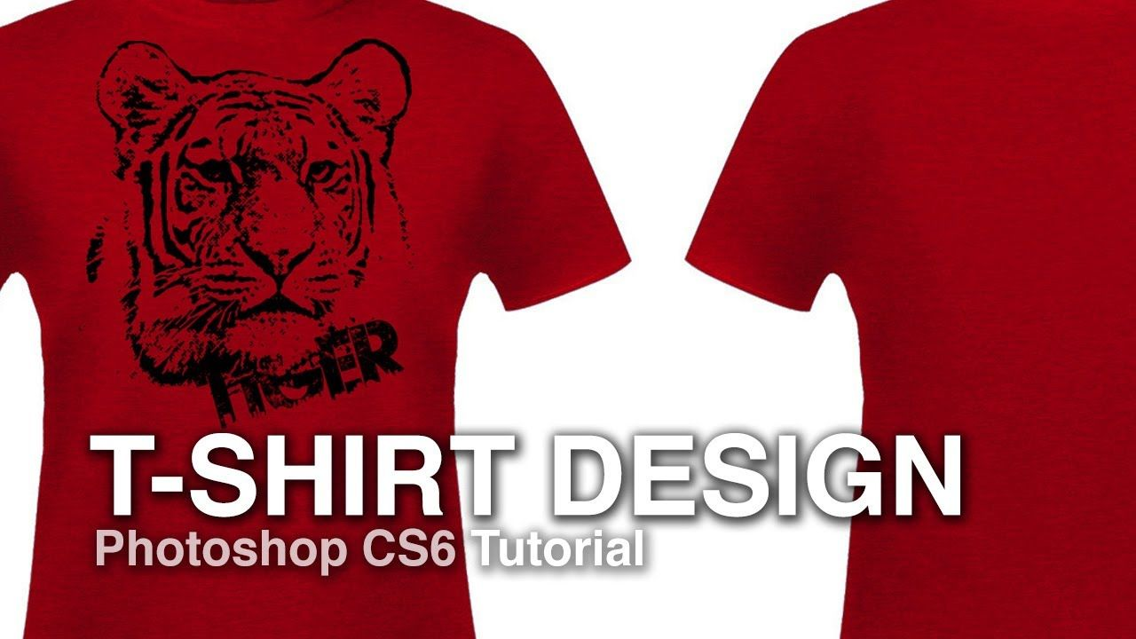 Design t shirt adobe illustrator tutorial - How To Design A T Shirt From A Photograph Photoshop Tutorial