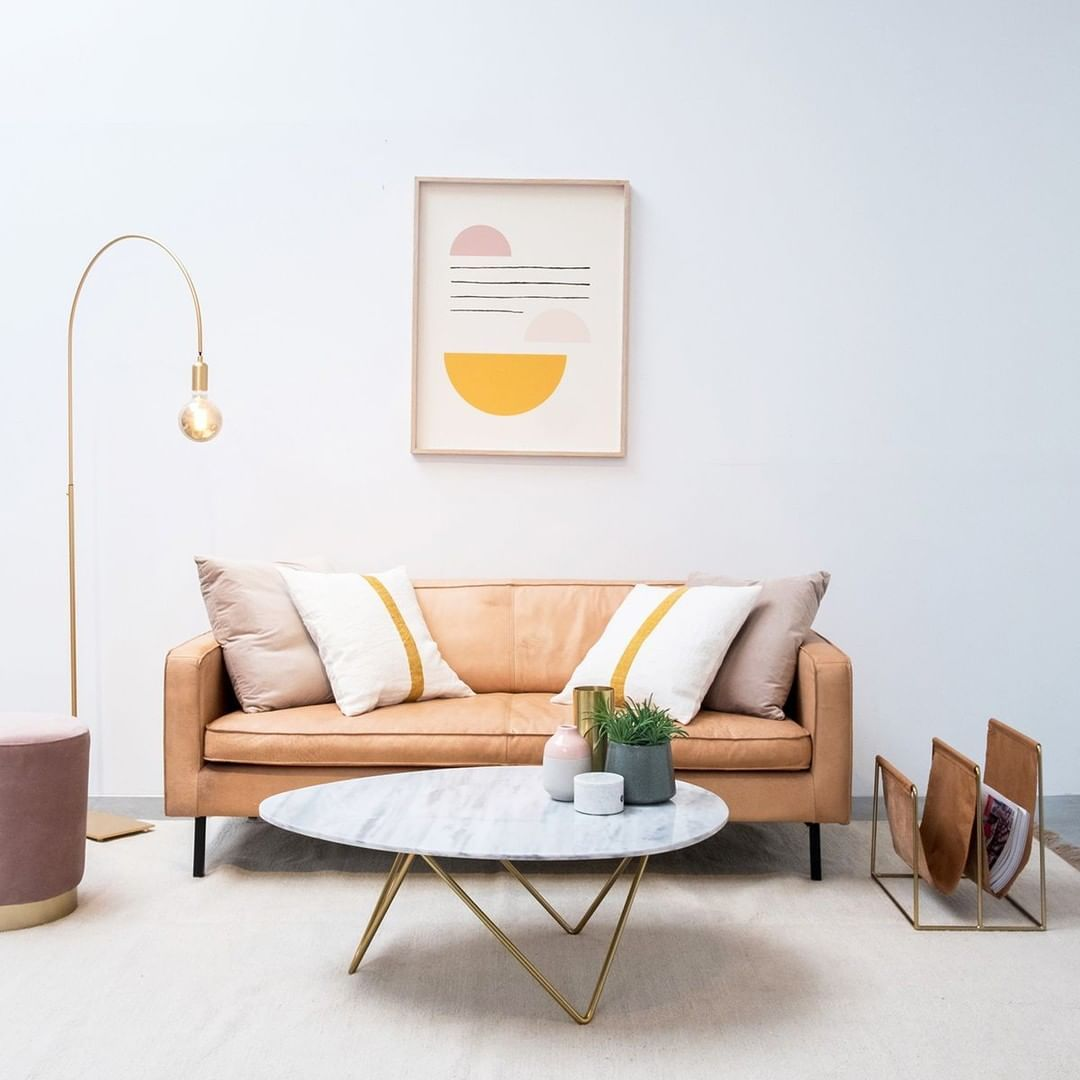 28+ Leather couch living room setup information