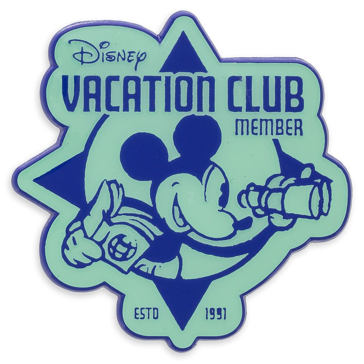 Mickey Mouse with Disney Vacation Club Logo Pin  Disney