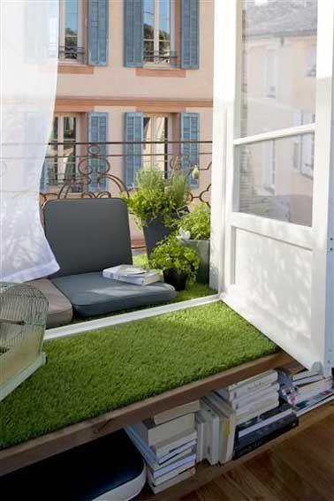 Déco balcon : un aménagement coloré et chic pour l\'été   Balcon ...