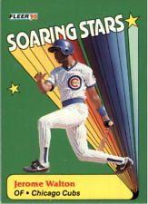 1990 Fleer Soaring Stars Chicago Cubs Baseball Card #8 Jerome Walton
