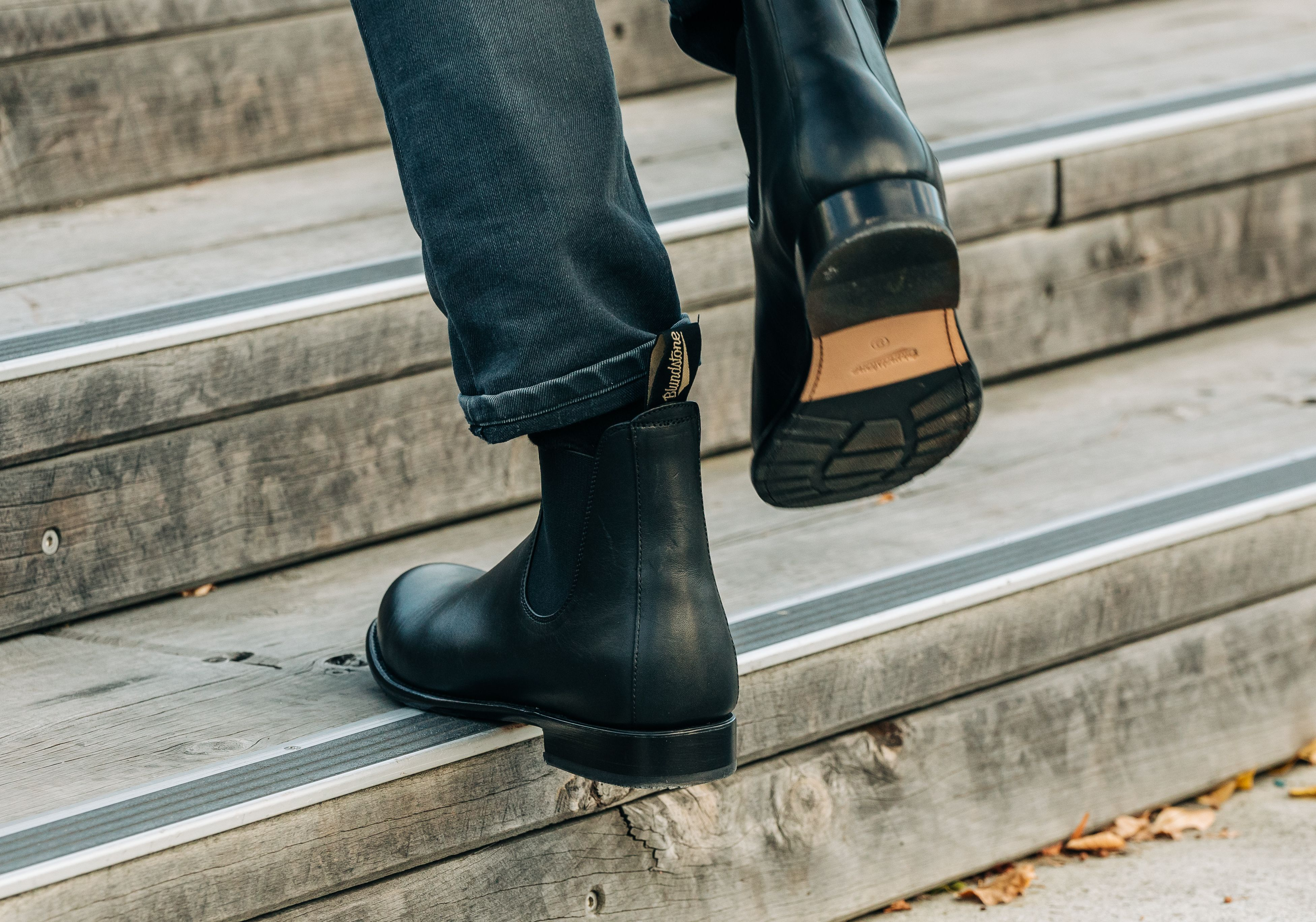 Men S Style 151 Black Leather Chelsea Boots Mens Boots Casual Boots