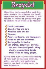 Recycle Checklist Printable Checklist Checklist Recycling