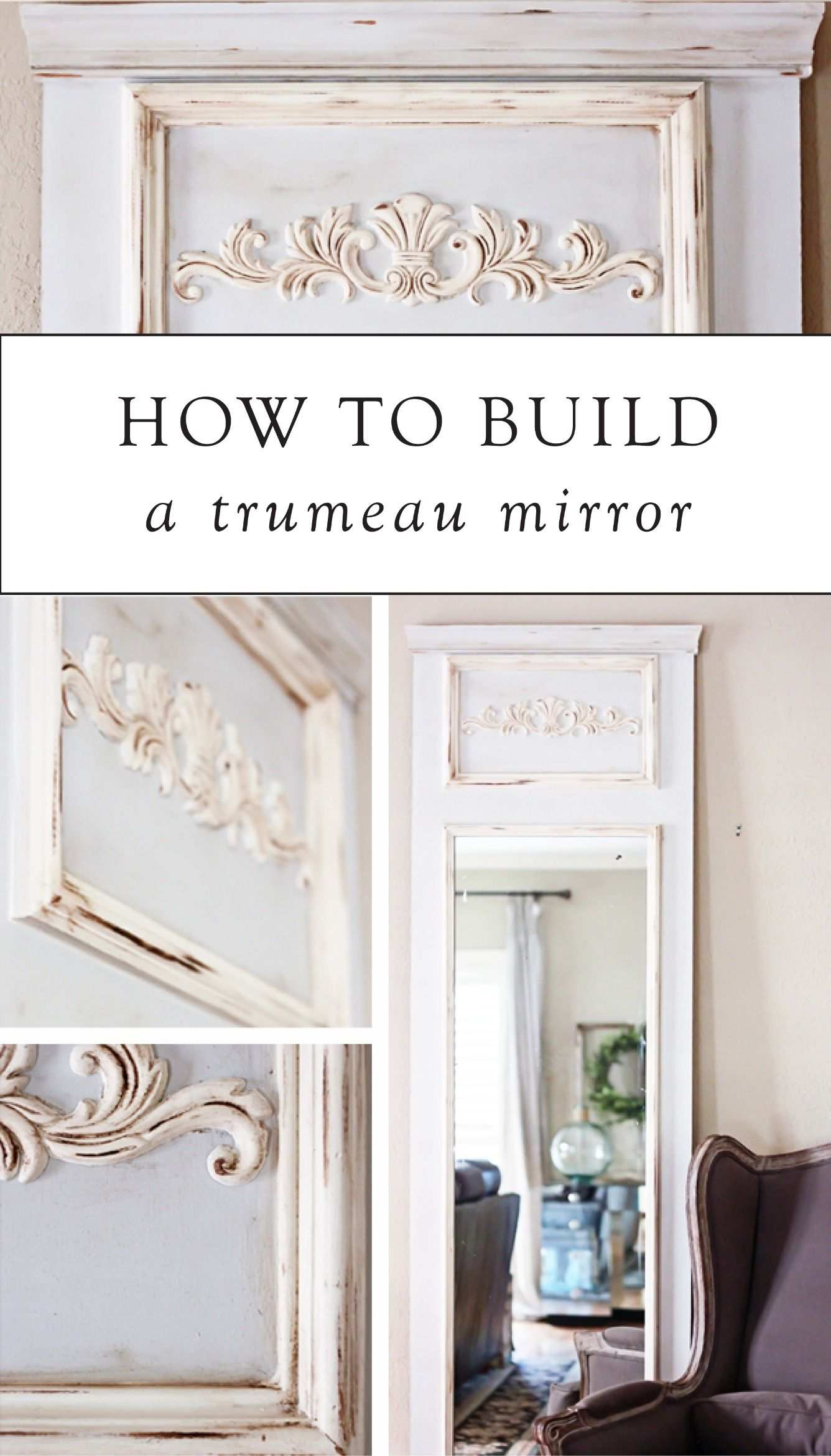 How to build a trumeau mirror rustic style elegant and room how to build a trumeau mirror amipublicfo Gallery