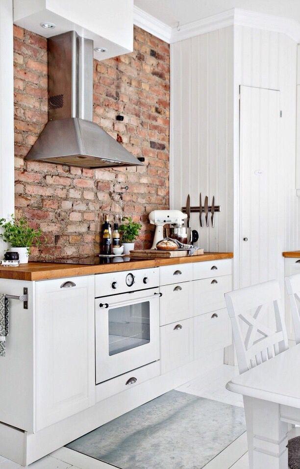 Exposed Brick Brick Wall Kitchen Brick Kitchen Kitchen Design