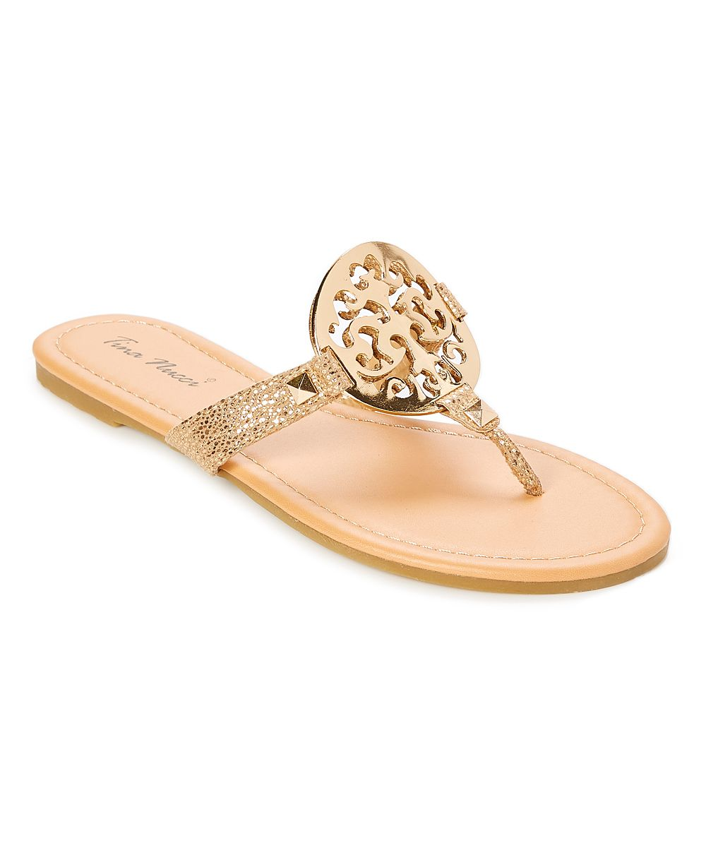 7733c5ac2c39b Rose Gold Viola Sandal | Products | Rose gold, Sandals, Clothes for sale