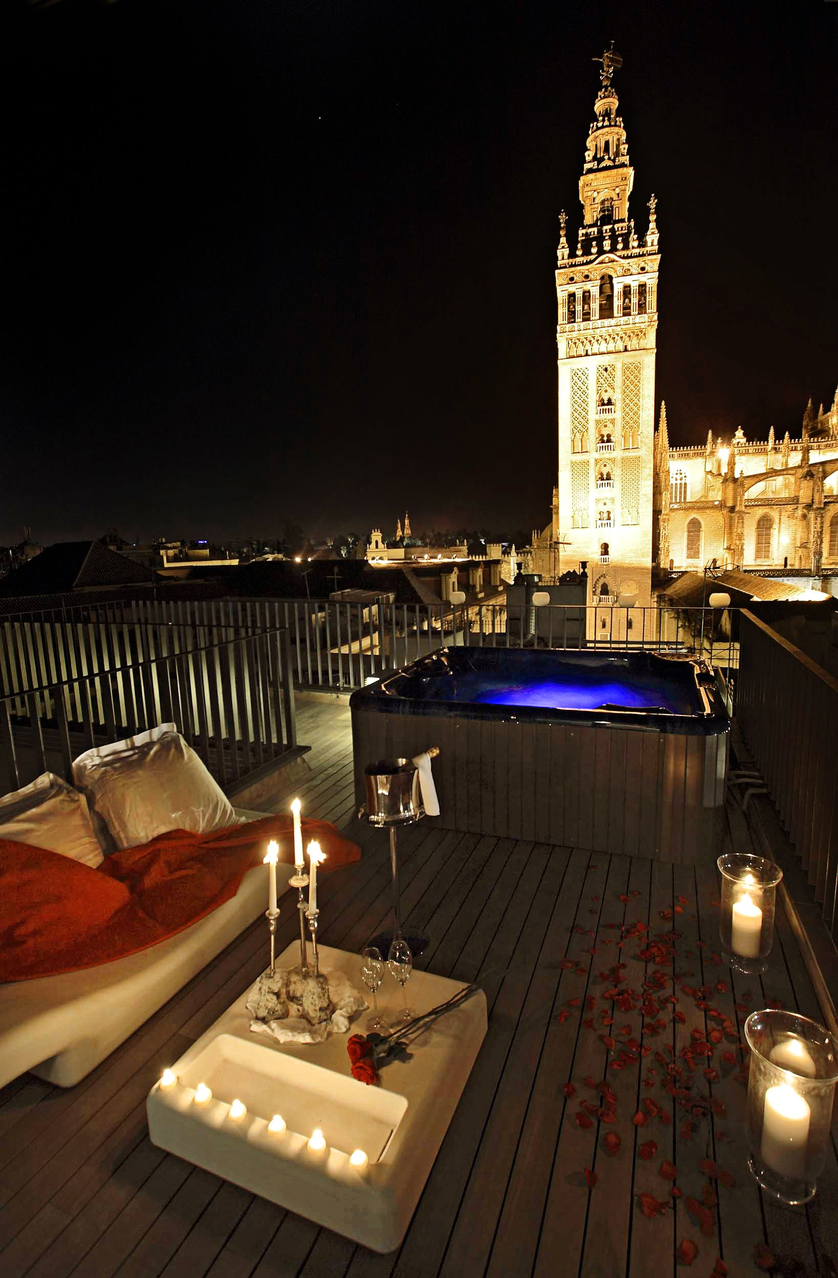 Eme Catedral Hotel Seville Best Hotels Romantic Places