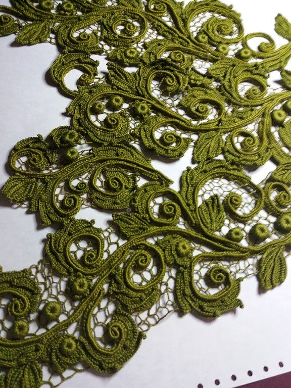 Pin de ana hasan en crochet | Pinterest | Encaje, Encaje irlandés y ...