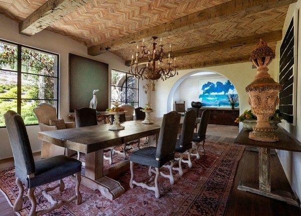 Tantalizingly Tuscan Luxurious Malibu Villa Enchants with