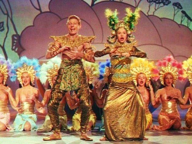 Danny Kaye And Vera Ellen Dance The Bali Boogie In Wonder Man