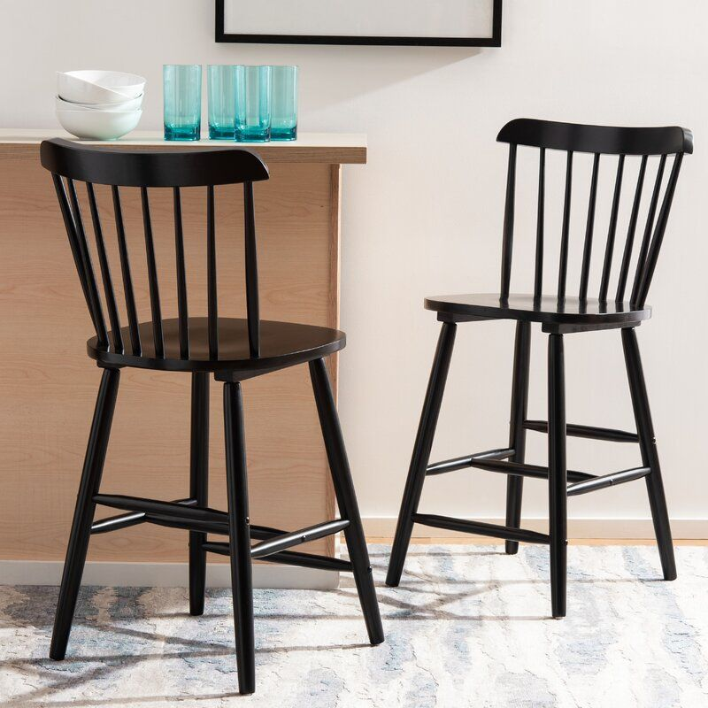 Spindle Counter & Bar Stool in 2020 Farmhouse bar stools