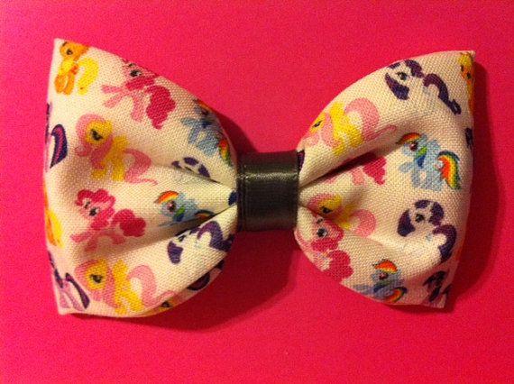 My Little Pony Hair Bow. $6.50