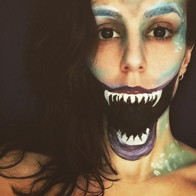 Evil mermaid by rubyleighfx