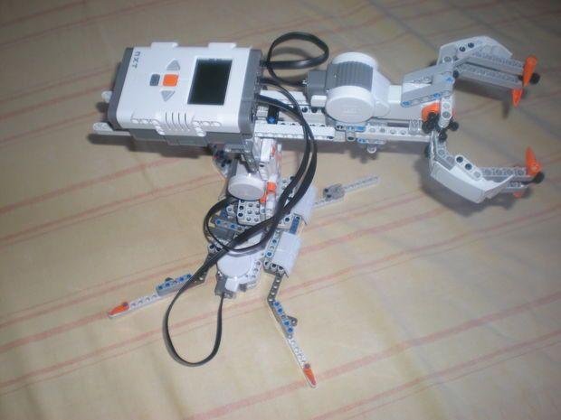 Lego Mindstorms NXT 2.0 Grabber Arm   Lego mindstorms