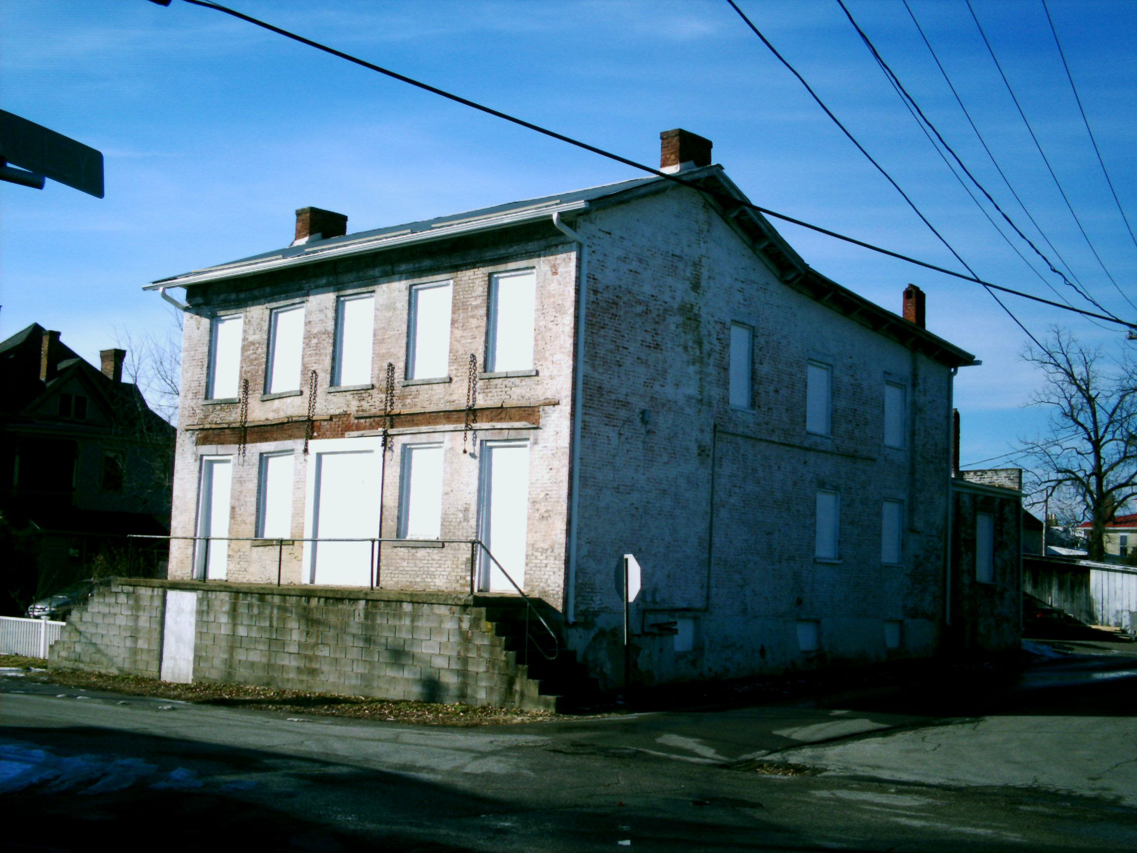 Ripley Oh Brown County An Abandoned House On Market St