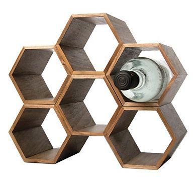 range bouteille nid d'abeille