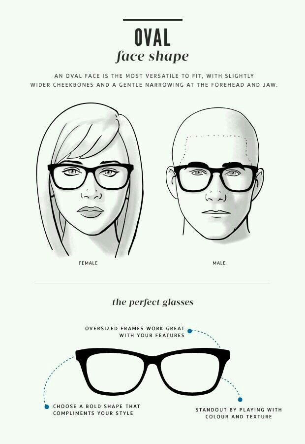 Glasses Rezzz Glasses For Your Face Shape Glasses For