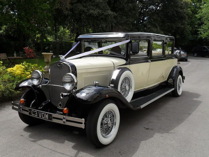7 Seater 1930's Style Branford Wedding Car from ALLENBY ...