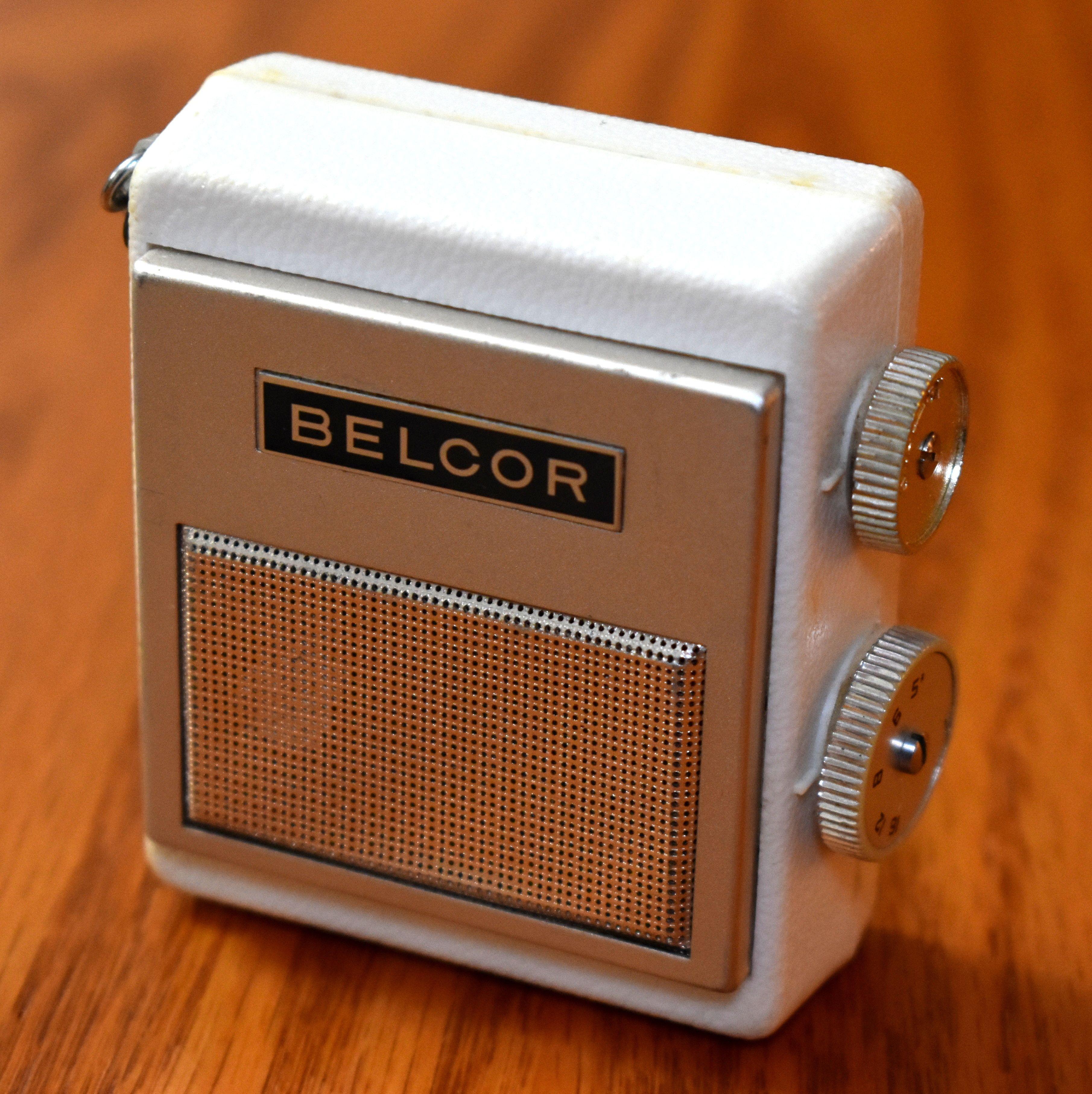 Vintage Belcor Micro 7-Transistor Radio (No Model Number