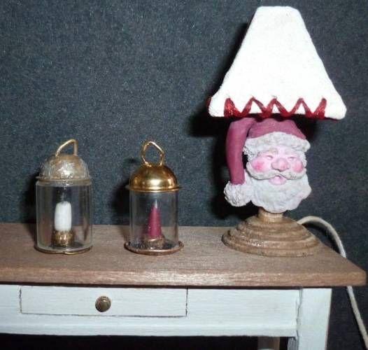 Noël Linge de maison de poupées miniatures
